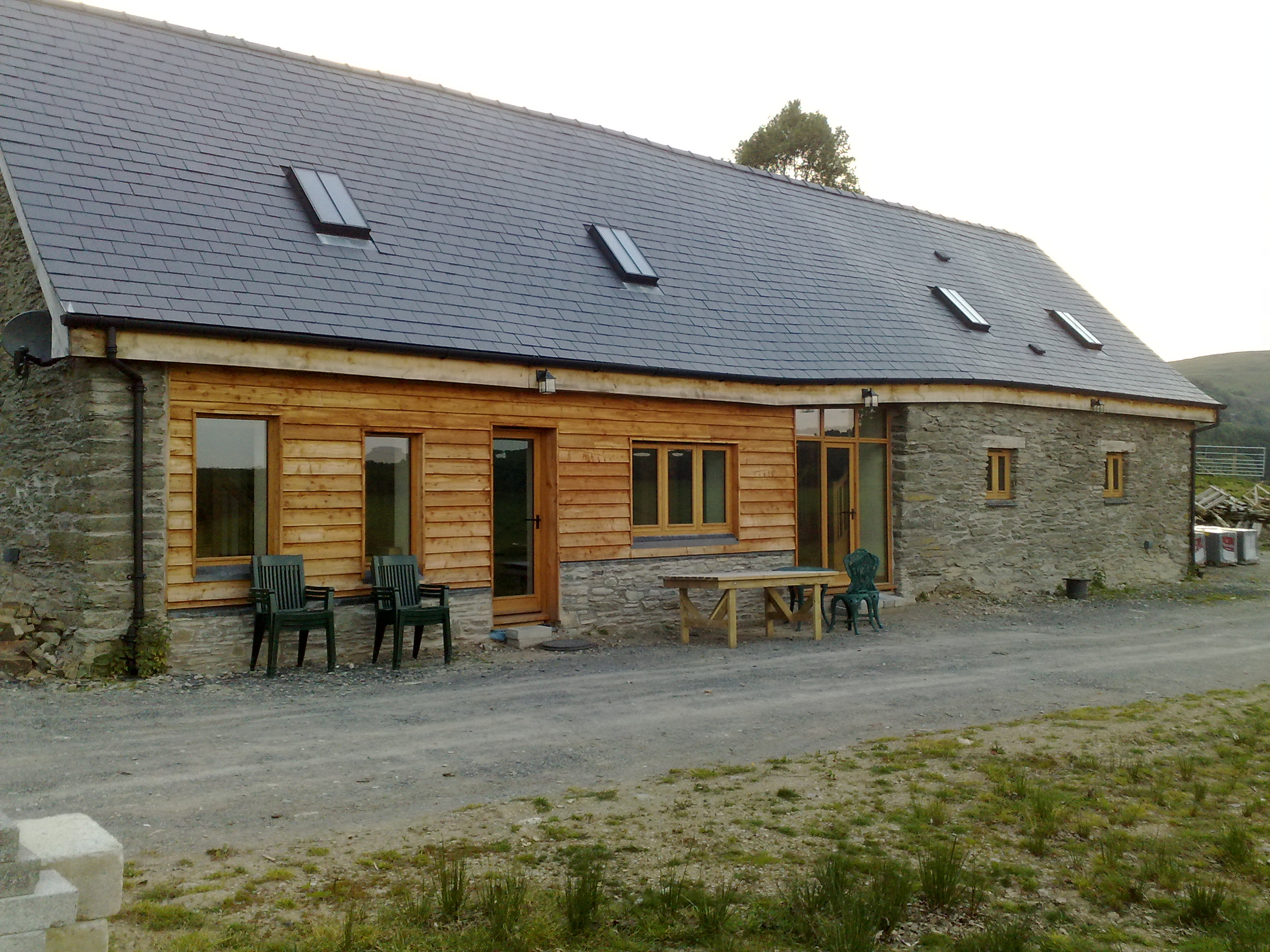 Barn Conversion set near Elan Valley Dams